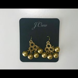 J. Crew earrings gold